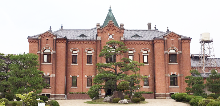 奈良少年刑務所 門