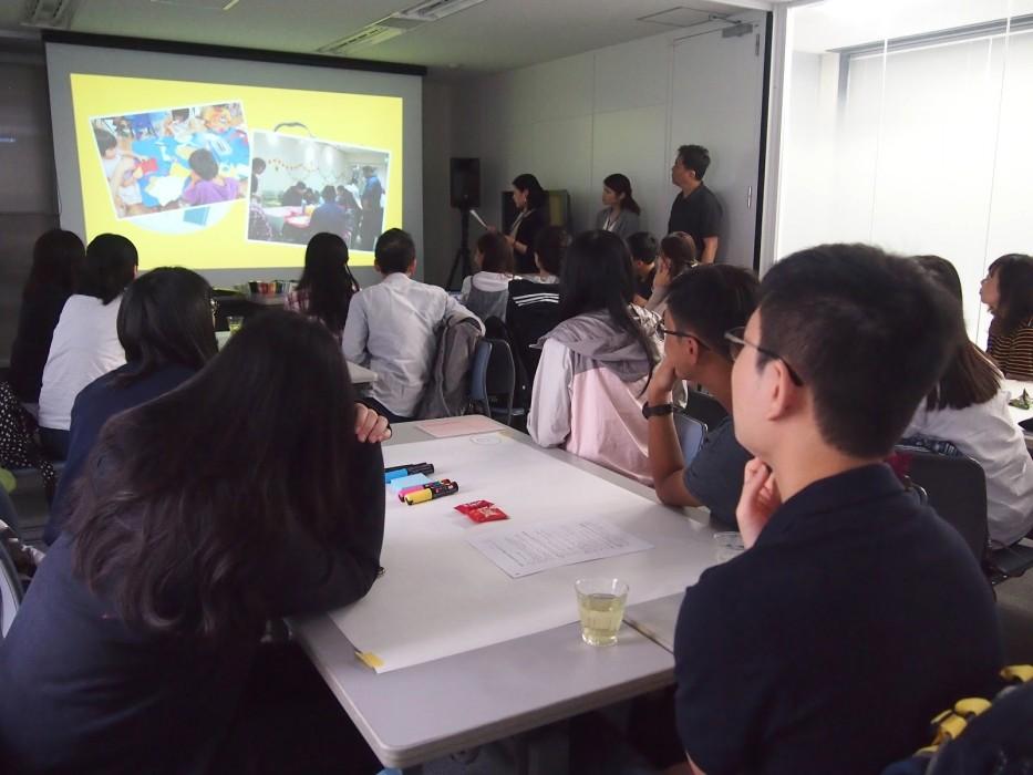 6月2日 香港バプティスト大学学生のeduCycleワークショップ