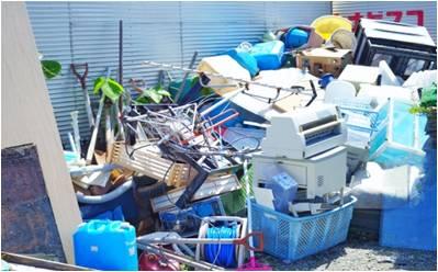リサイクルショップから大量の廃棄物 ・・・リユースしているはずなのに?